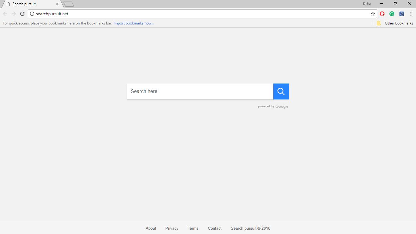 How to Remove Searchpursuit.net?