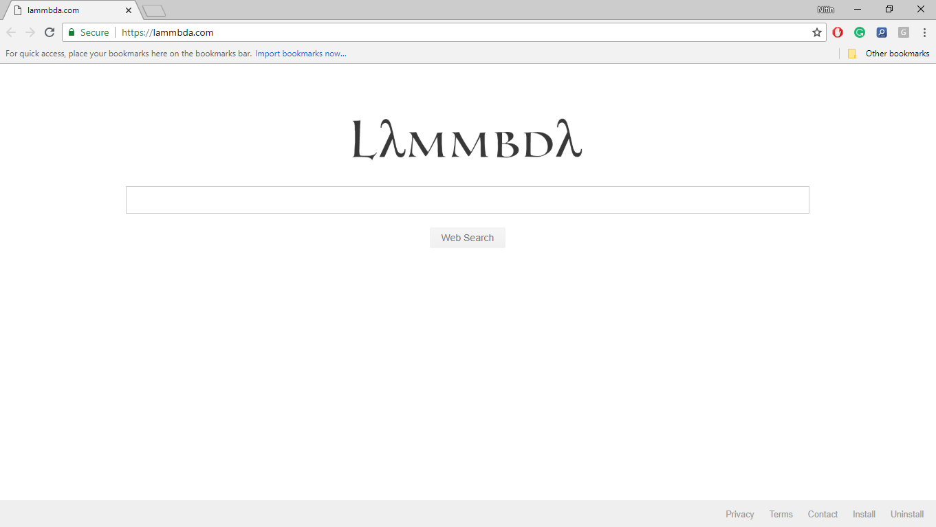 How to Remove Lammbda.com Hijacker