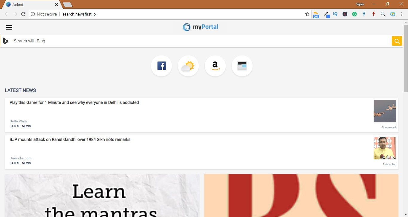 How to Remove Search.newsfirst.io