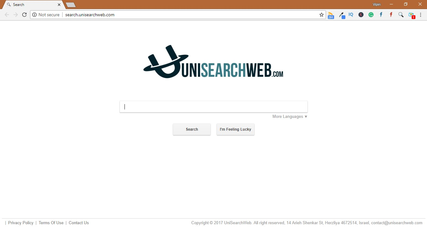 How to Remove Search.unisearchweb.com
