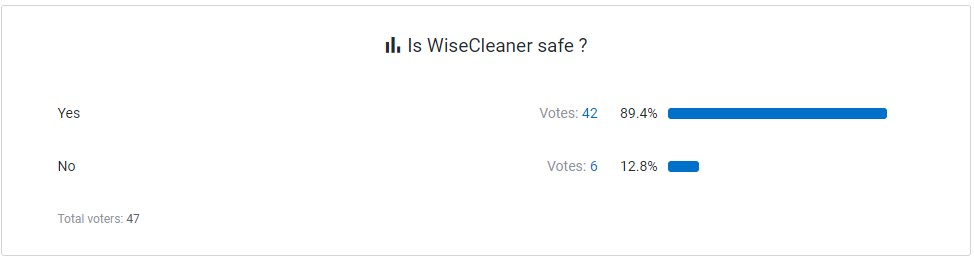 WiseCleaner User Review 1