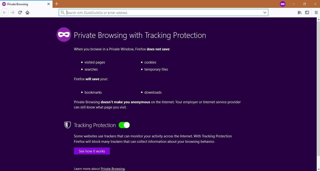 Activate Firefox Private Browsing 2
