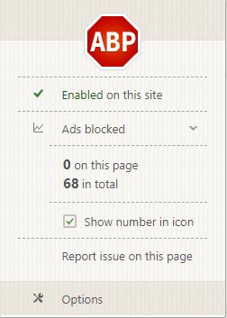 Adblock Plus Features
