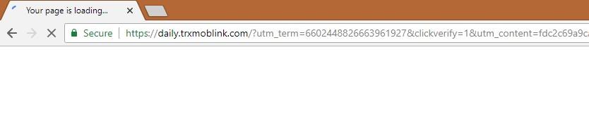 How to remove Trxmoblink.com
