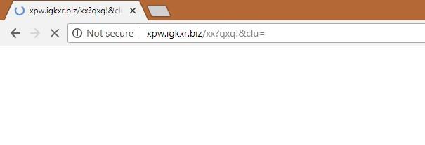 How to remove Xpw.igkxr.biz Redirect