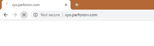 How to remove Xyo.perfonsrv.com Redirect