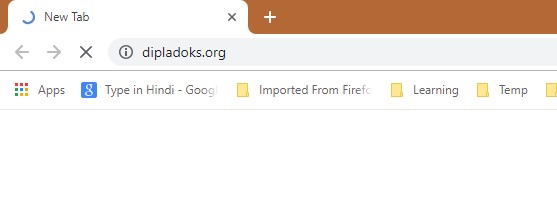 How to remove Dipladoks.org Redirect