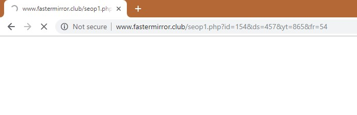 How to remove Fastermirror.club Redirect