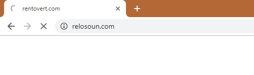 How to remove Relosoun.com Redirect