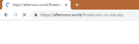 How to remove Afternoon.world Redirect