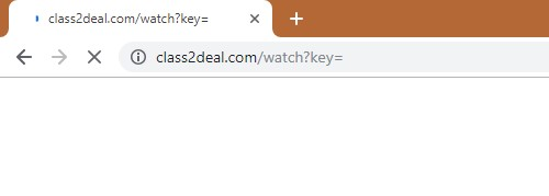 How to remove Class2deal.com Redirect