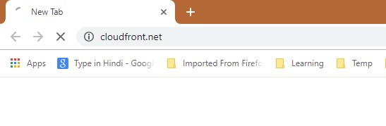 How to remove Cloudfront.net Redirect