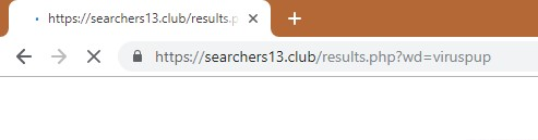 How to remove Searchers13.club Redirect