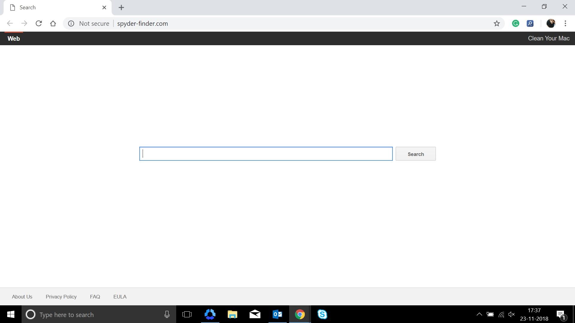 How to remove Spyder-finder.com Hijacker