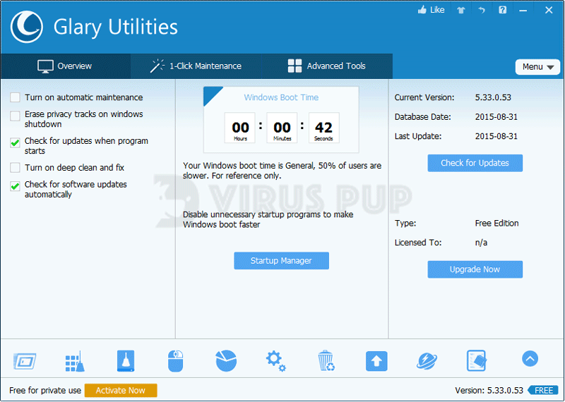 Glary Utilities Pro - Best Computer Repair Software