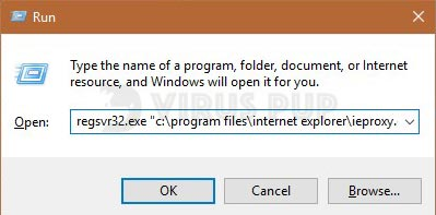 Internet Explorer won't open solution 1