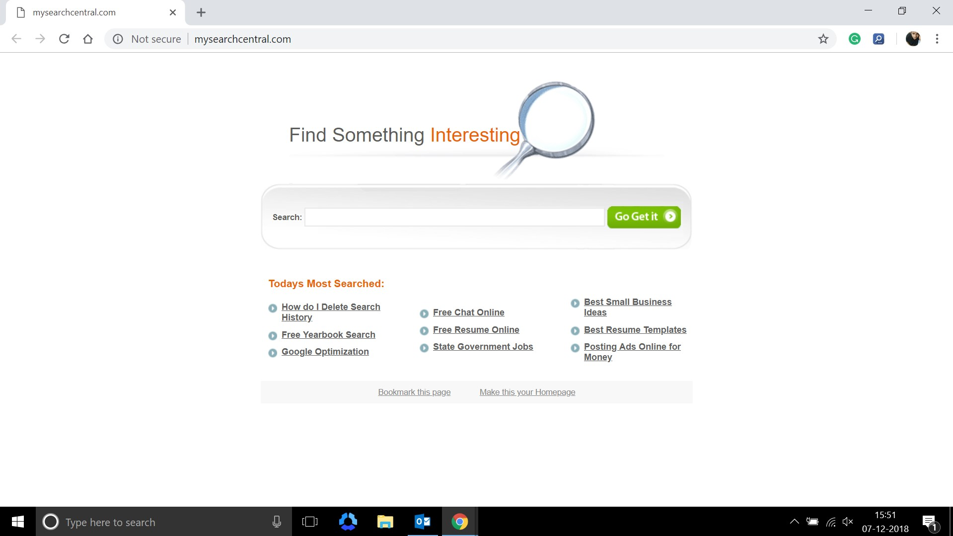 How to remove Mysearchcentral.com Hijacker