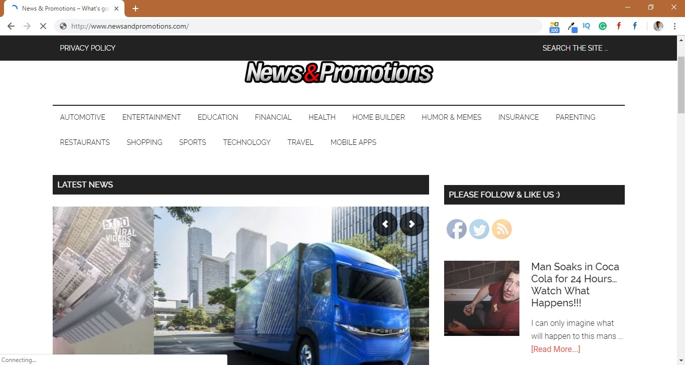 How to remove Newsandpromotions.com Redirect