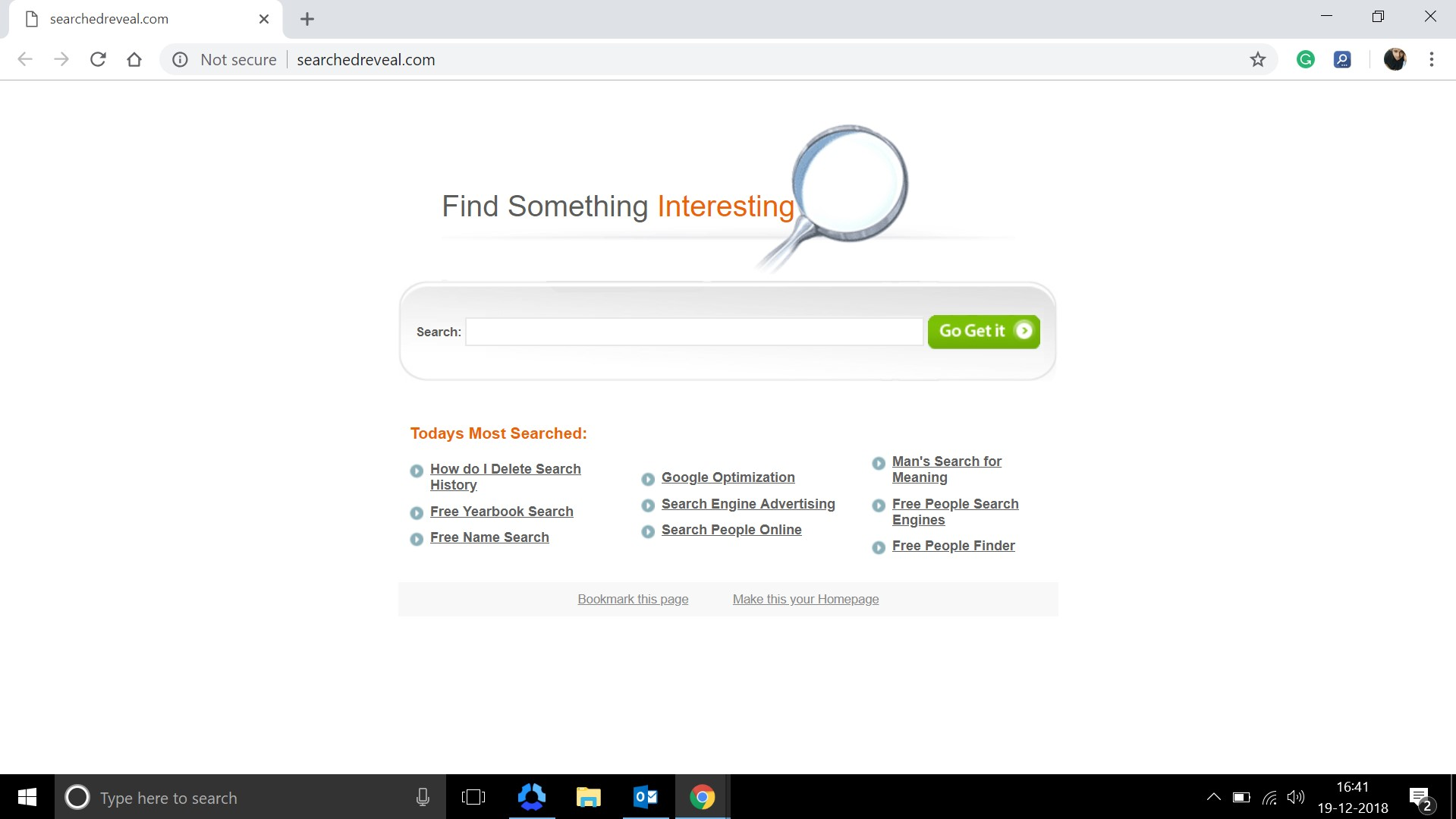 How to remove Searchedreveal.com Hijacker