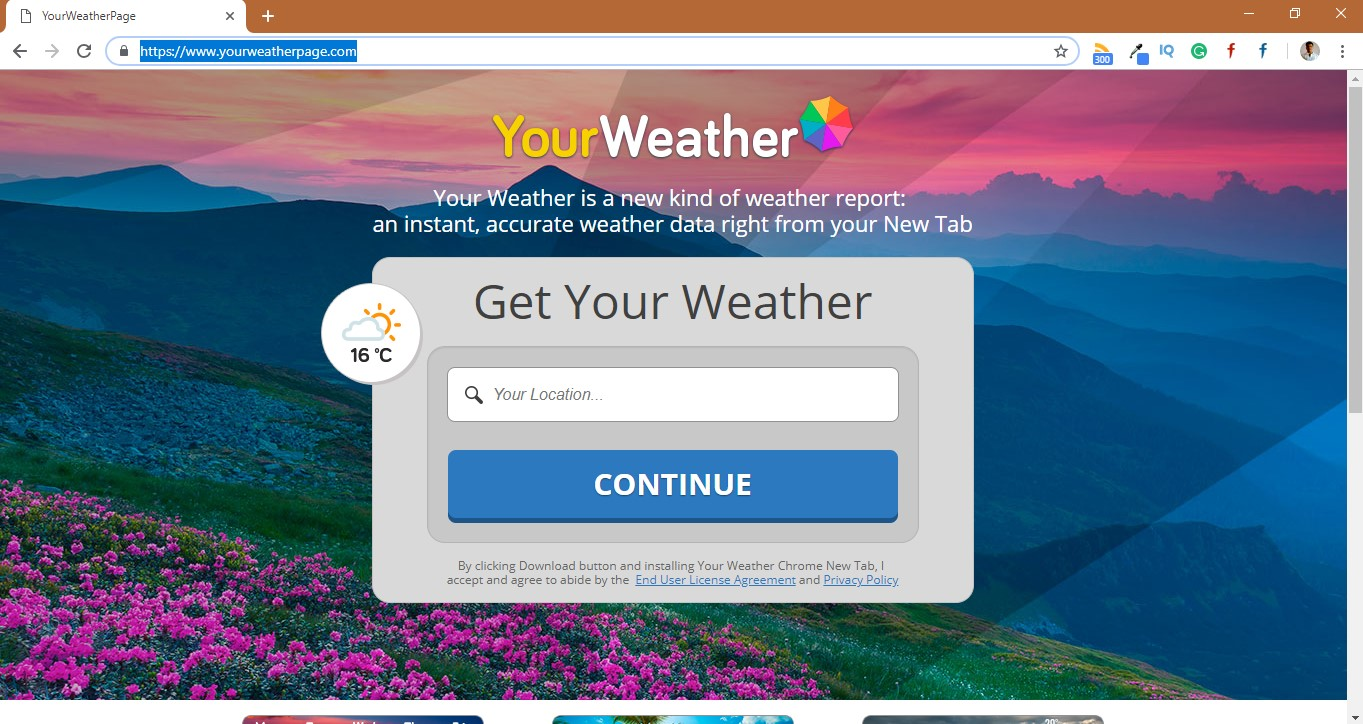 How to Remove Yourweatherpage.com Hijacker