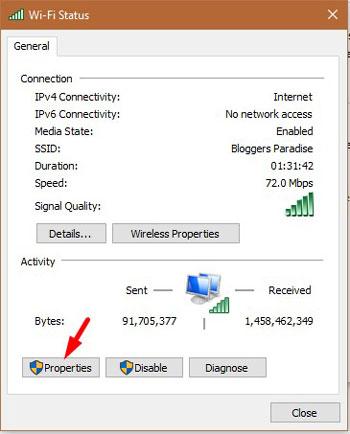 Change DNS Settings 5