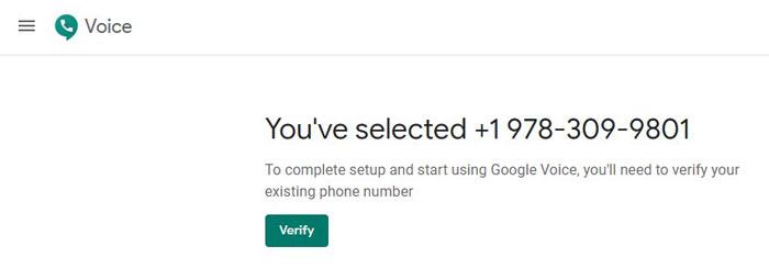 Google Voice Verification Code Scam