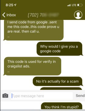 How to Deal with the Scammer