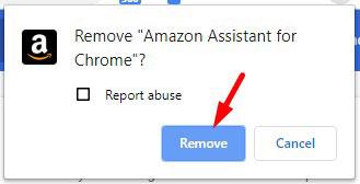 Remove Amazon Assistant Extension Chrome 3