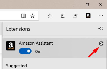 Remove Amazon Assistant Extension Edge 2