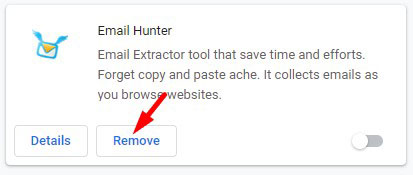 Remove Suspicious Extension Chrome 2