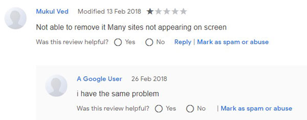 SearchLock User Reviews 1
