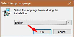 MalwareFox Installation - Select Language