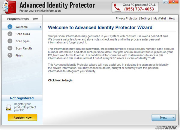 How to Remove Advanced Identity Protector