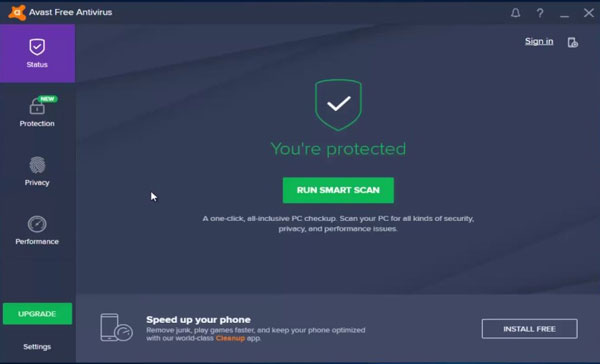 Avast vs Windows Defender