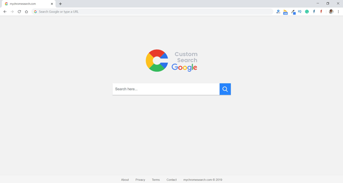 How to Remove Mychromesearch.com