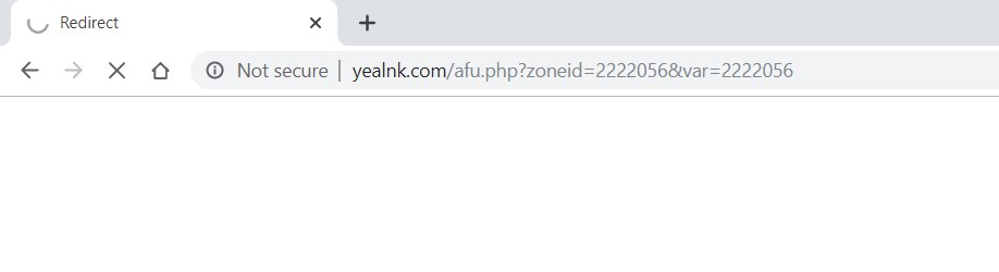 How to Remove Yealink.com redirect