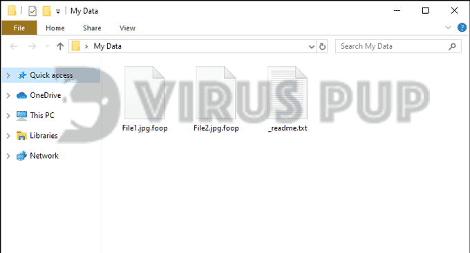 Foop Infected Files
