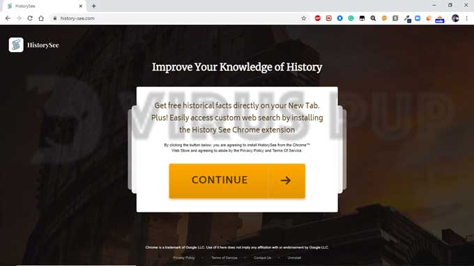 HistorySee Browser Hijacker