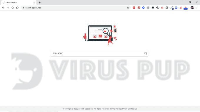 SearchSpace Browser Hijacker