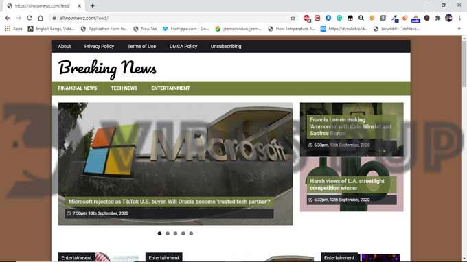 Delete Allwownewz.com Ads