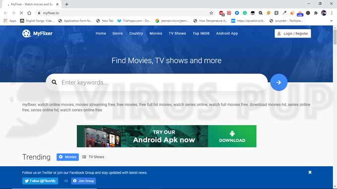 Remove Myflixer.to