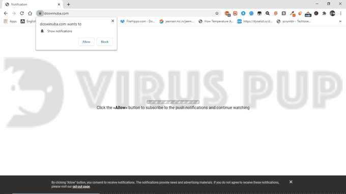 How to Remove Doswinuba.com