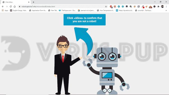 Remove Robotcaptcha7.info